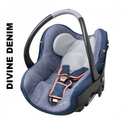 Cos auto Bebe Confort Creatis Fix 0 - 13 kg divine denim