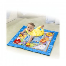 Saltea de joaca Fisher Price Friendly Firsts Discovery Play Quilt