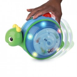 Bright Starts 10935 – Jucarie 2 in 1 Roll & Glow Snail