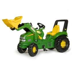 Tractor cu pedale si cupa Rolly Toys RollyX-Trac 3-10 ani