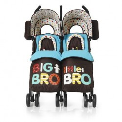 Carucior gemeni Cosatto You 2 big bro little bro